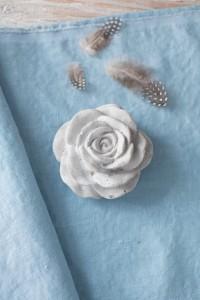Sky Blue - End of he Roll - 30 cm piece