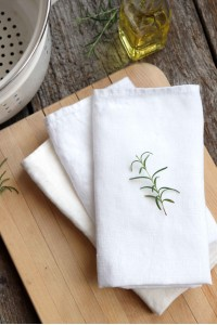 NEW Napkin White